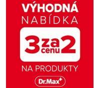 2+1 zdarma na produkty Dr.Max | Dr. Max