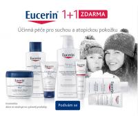 Akce 1+1 na kosmetiku Eucerin Dry Skin   Lekarna.cz
