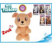Plyšové zvířátko Mini Tickles, zvuk, 16cm | Alza