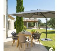 Extra sleva 10% na slunečníky Elea 3x3m | Dreveny-zahradni-nabytek.eu