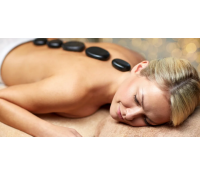 Relaxační masáž částečná s lávovými kameny  | Slevomat