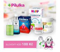 Slevový kód -100 Kč nad 599 Kč | Pilulka