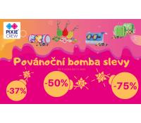 Povánoční bomba slevy až 75%   Pixiecrew.cz