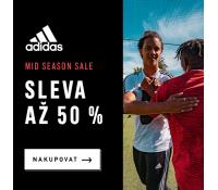 Sleva až -50% v Adidas outlet | Adidas