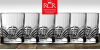 Sada 6 luxusních křišťálových sklenic na whiskey | Slevomat
