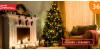 Umělé vánoční stromky + stojan a kvalitní větve | Hyperslevy