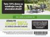 Jysk - slevový kupon -10% na zahradní nábytek   Jysk